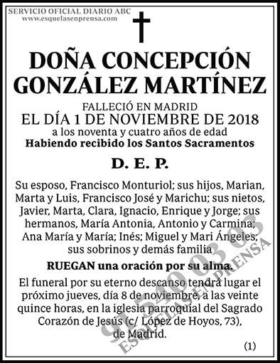 Concepción González Martínez
